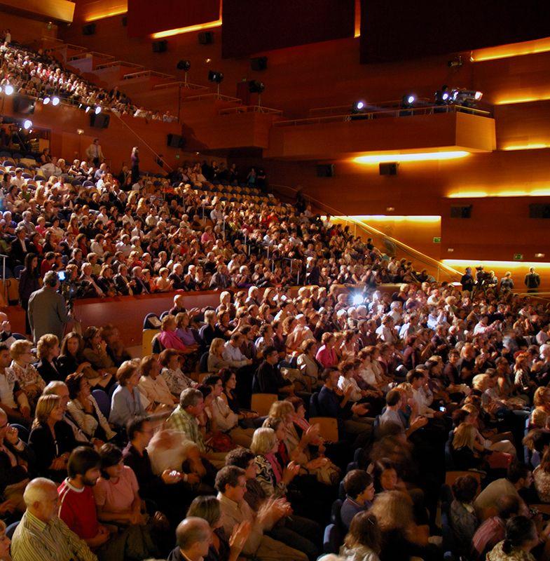 Congresos en el Auditorium Kursaal